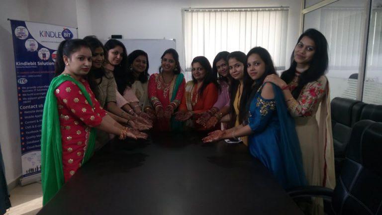 Celebrating Karva Chauth